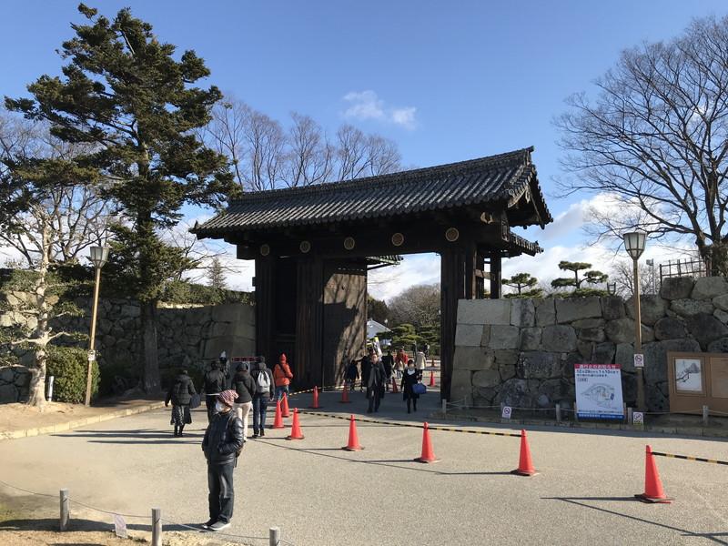 姫路城の入り口