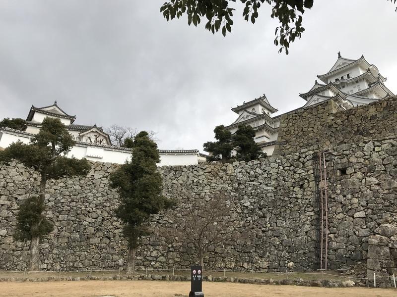 姫路城の石垣